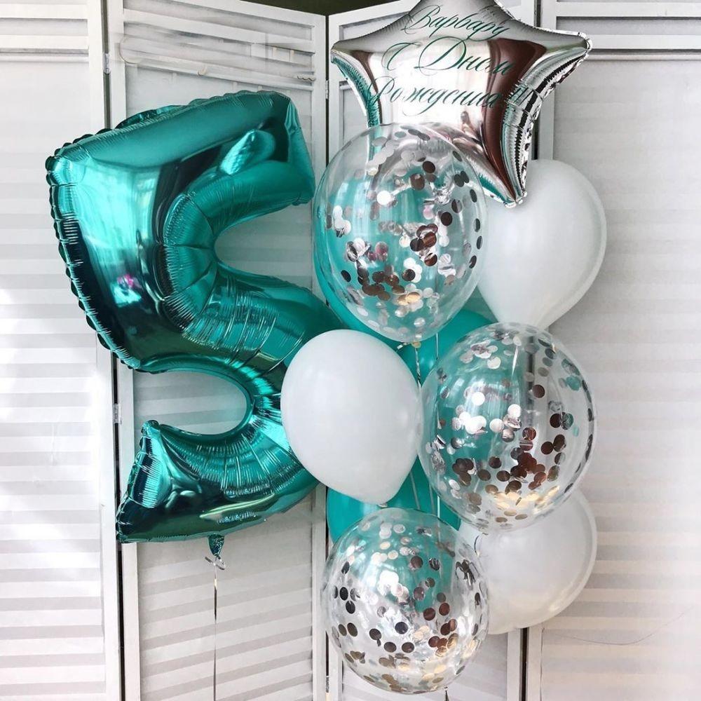1112-0390 Набор гелиевых шаров из 11 шт