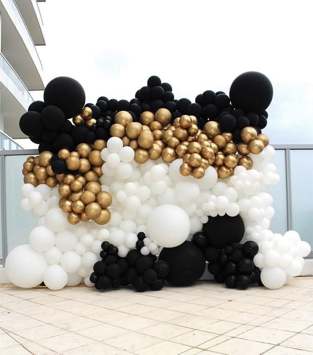 1110-0006 Фотофона из воздушных шаров, размер 3 на 2,5
