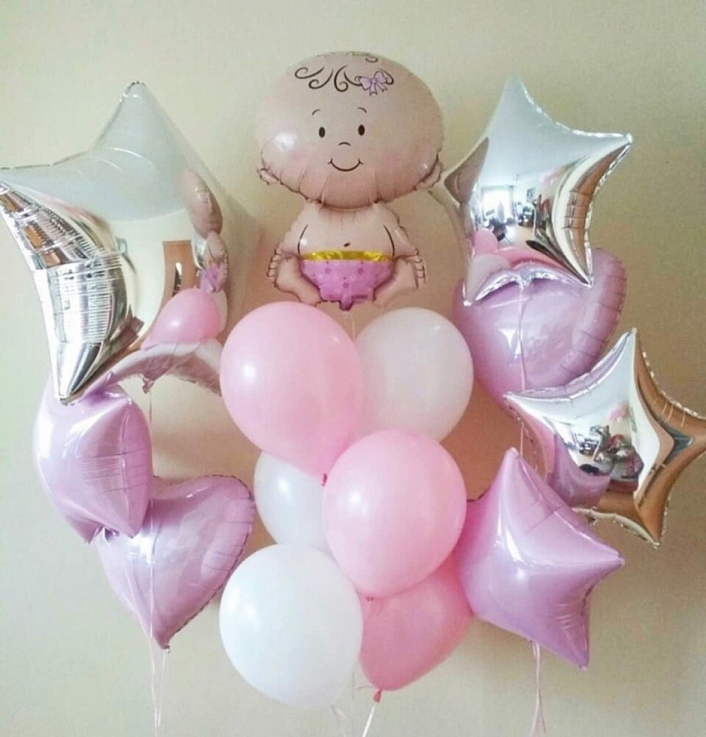 1112-0435 Набір гелієвих кульок із 14 шт