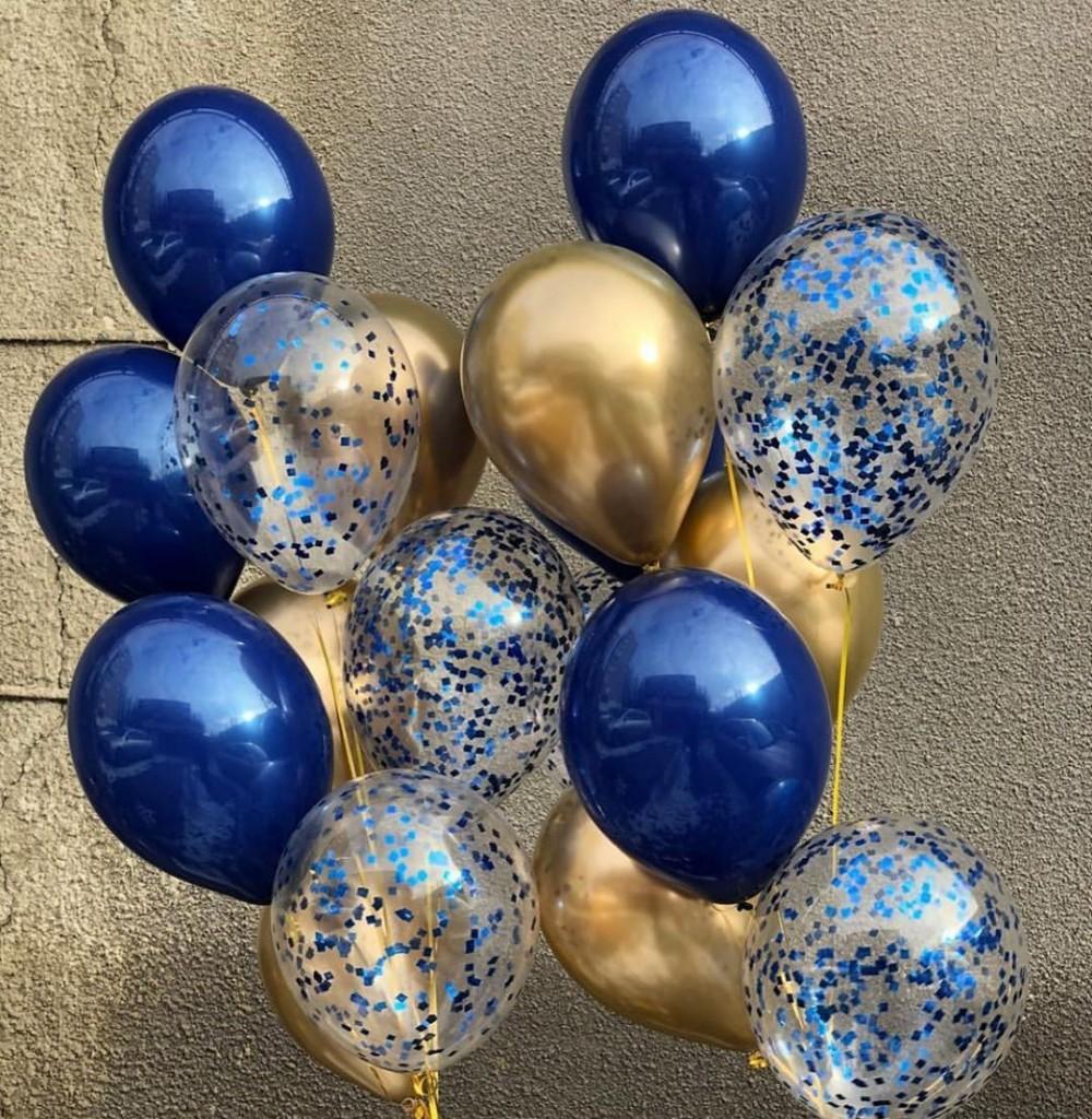 1112-0443 Набор гелиевых шаров из 18 шт