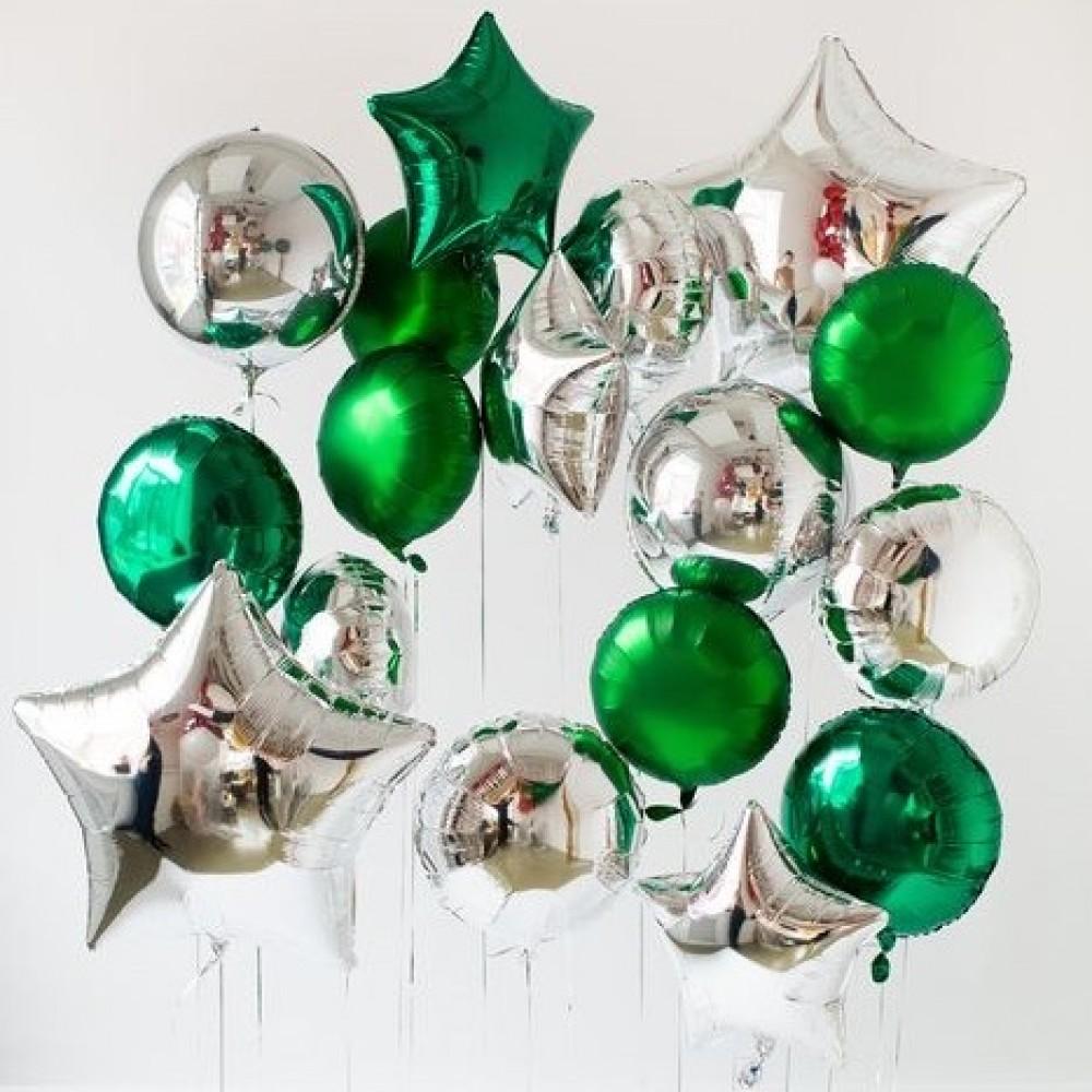 1112-0022 Набор гелиевых шаров из 17 шт