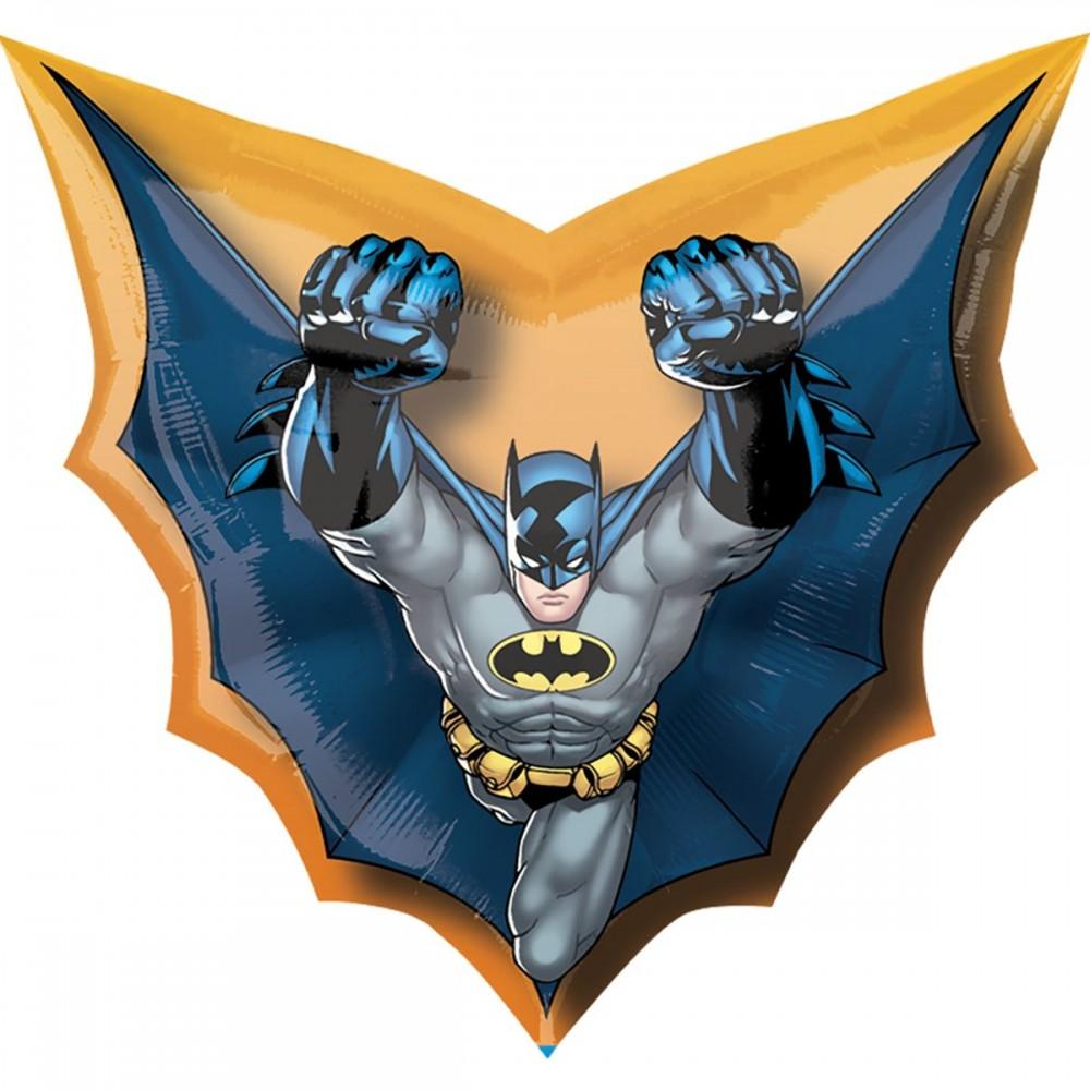 3207-2156 Шар фольгированный с гелием  Бэтмен, размер 69х71 см
