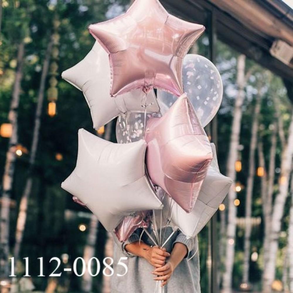 1112-0085 Набір гелієвих кульок із 8 шт