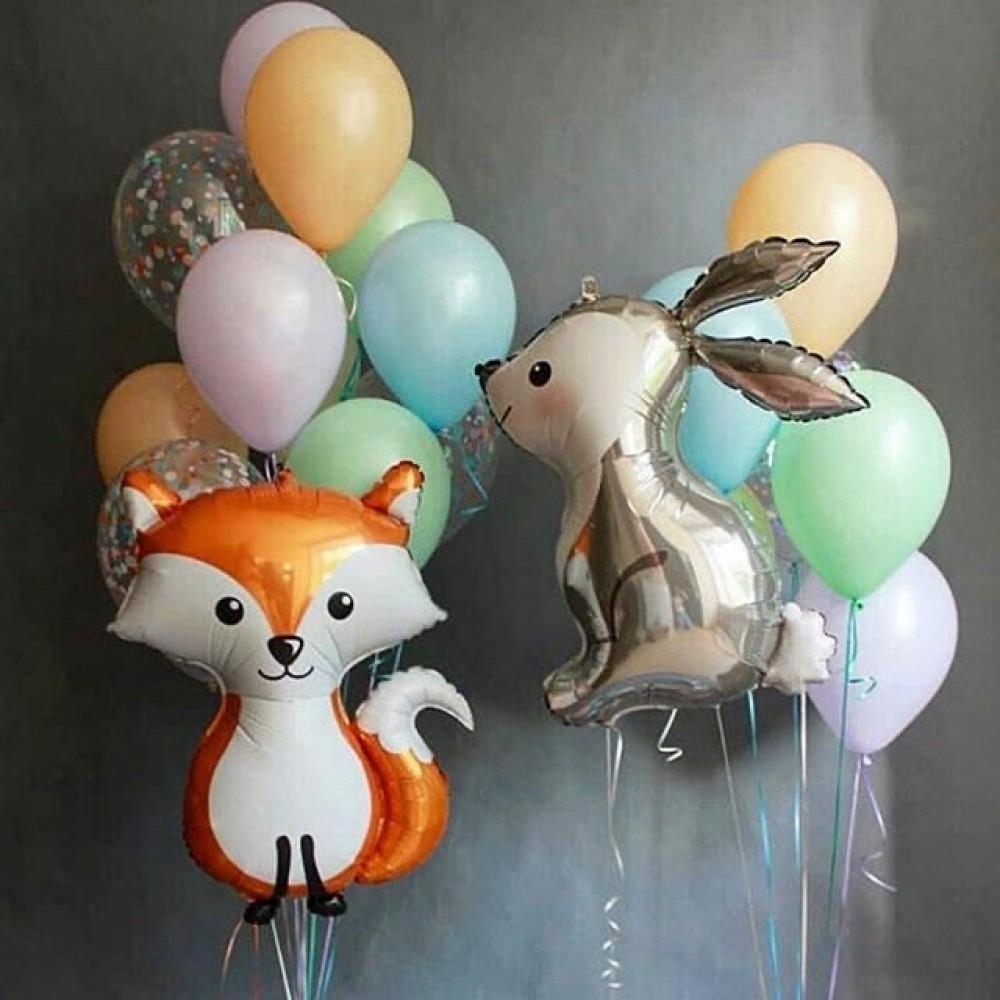 1112-0448 Набір гелієвих кульок із 18 шт