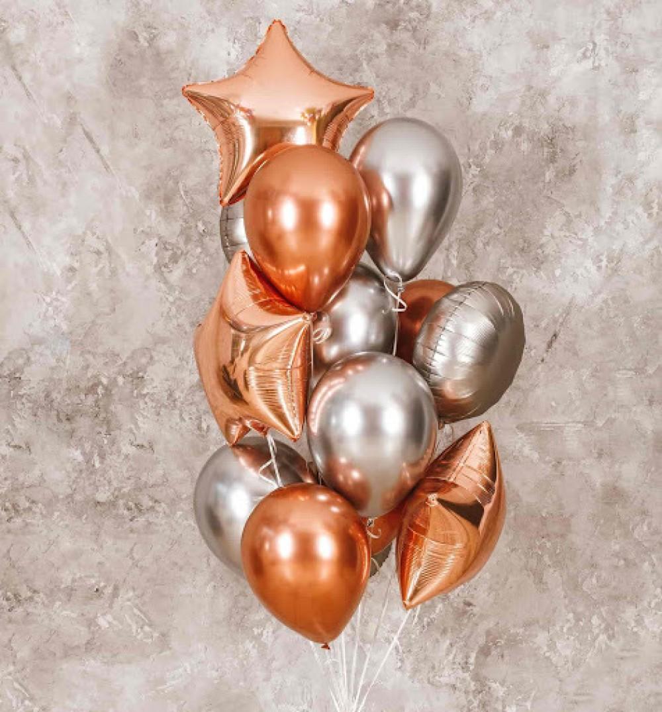1112-0455 Набір гелієвих кульок із 13 шт
