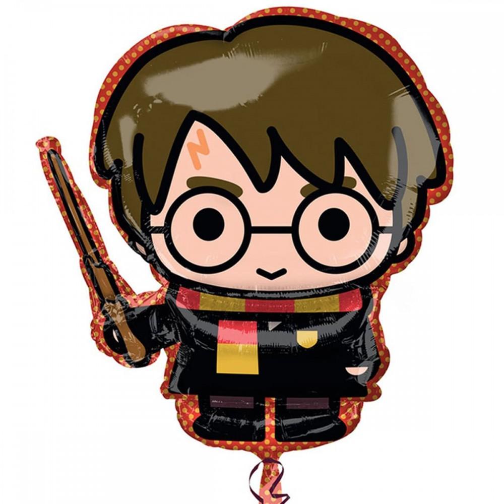 1207-3931 Шар фольгированный с гелием  Гарри Поттер, размер 68х63 см