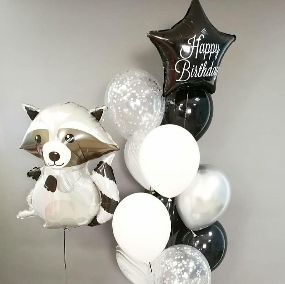 1112-0465 Набір гелієвих кульок із 12 шт