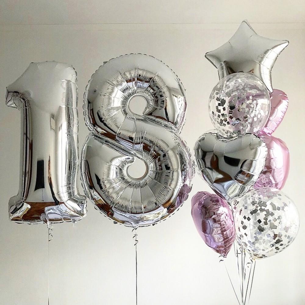 1112-0474 Набір гелієвих кульок із 9 шт
