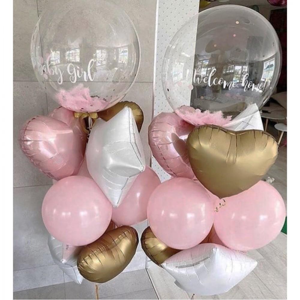 1112-0484 Набір гелієвих кульок із 20 шт