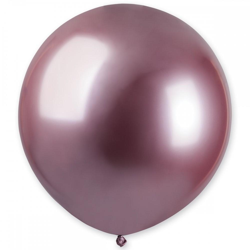 """Латексный шар с гелием  Хром Розовый 18"""", артикул 3102-0542"""