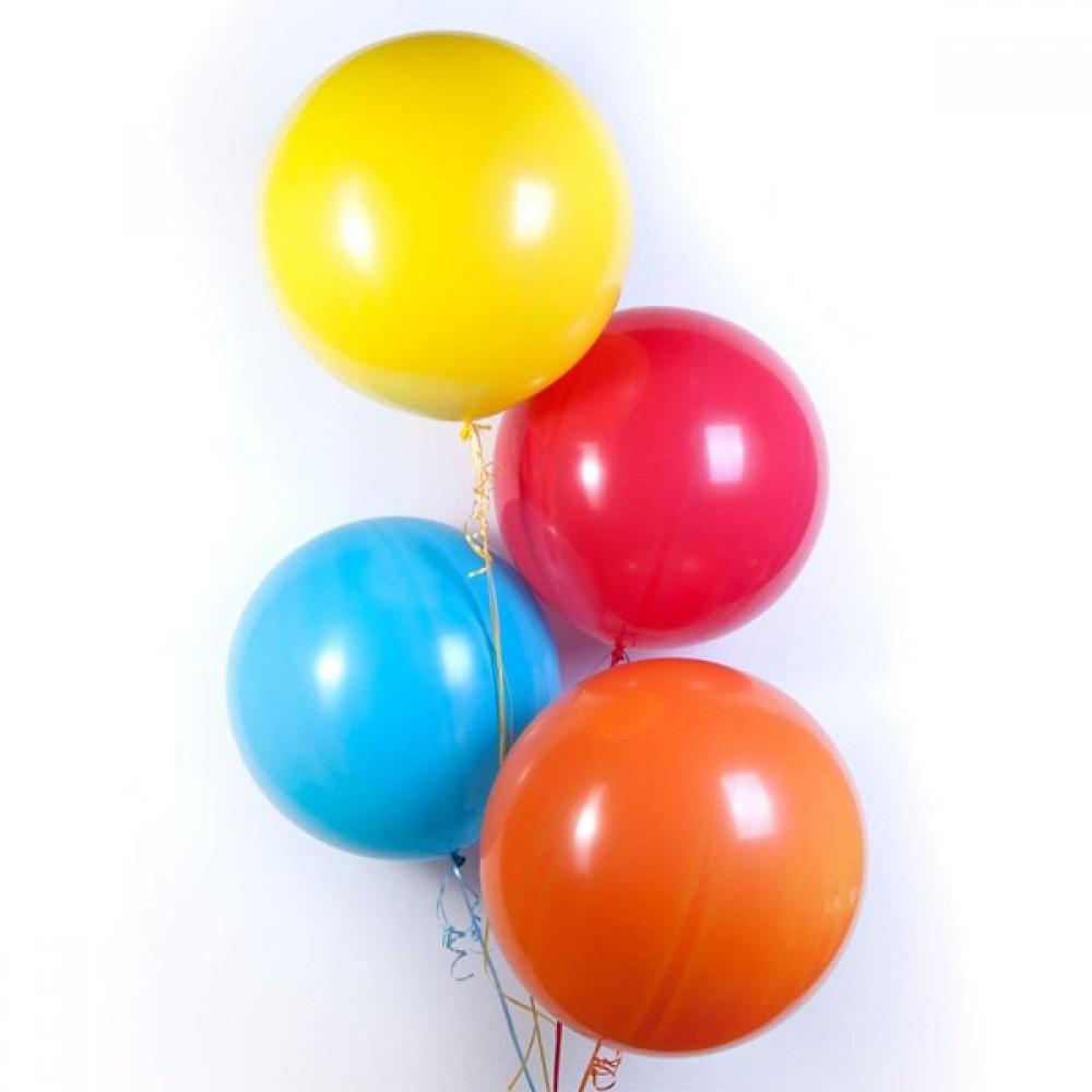 """Кулька латексна з гелієм  Пастель/Металік 18"""", артикул 1114-0001"""