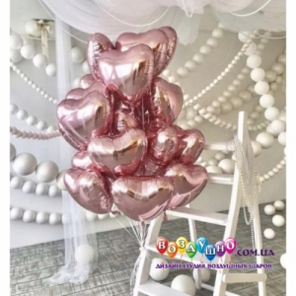 1112-0222 Набор гелиевых шаров из 25 шт