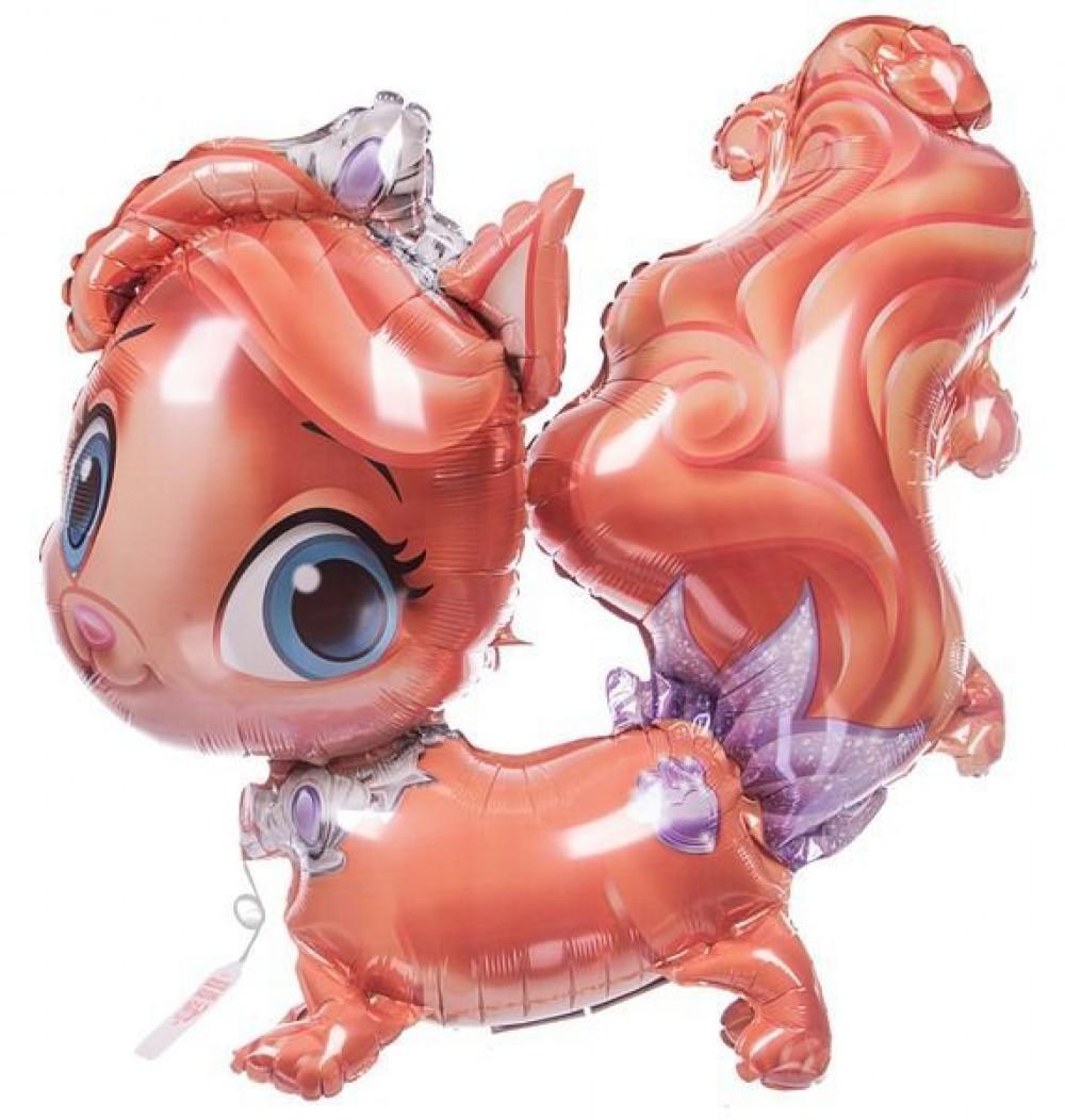 1208-0342 Ходячая фольгированная фигура с гелием  Disney Кошечка, размер 73х71 см